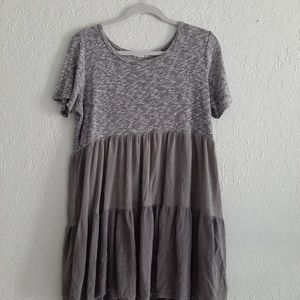 Altard state flowy tee shirt type dress size large